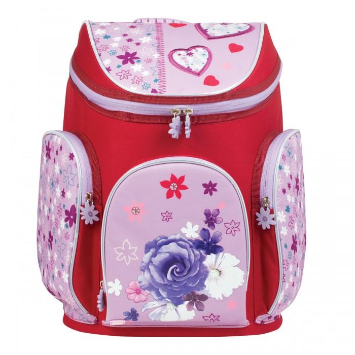 Развитие и школа , Школьные рюкзаки Brauberg Ранец Роза арт: 529776 -  Школьные рюкзаки