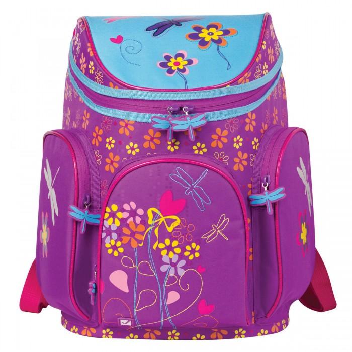 Развитие и школа , Школьные рюкзаки Brauberg Ранец Стрекоза арт: 529781 -  Школьные рюкзаки