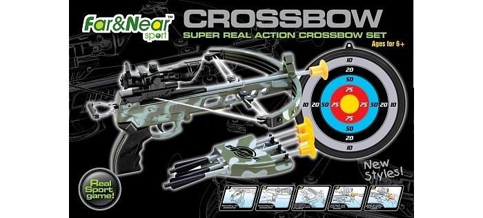 Игрушечное оружие Far&Near Миниарбалет FN-TO0440SET-H, Игрушечное оружие - артикул:530231