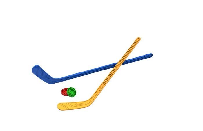 Спортивный инвентарь Нордпласт Набор Юный хоккеист 2 клюшки