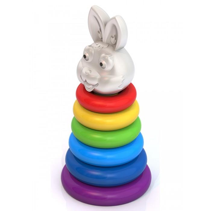 Развивающие игрушки Нордпласт Пирамидка Кролик краснокамская игрушка развивающая пирамидка кольцевая