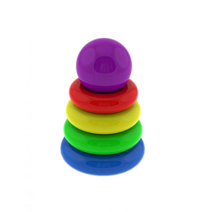 Развивающие игрушки Нордпласт Пирамидка мини развивающие игрушки babyono пирамидка цифры