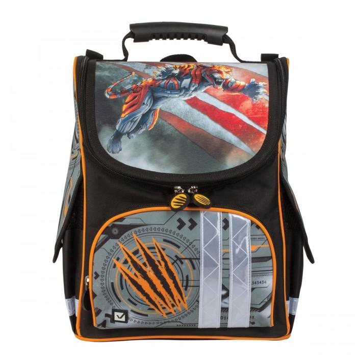 Купить Школьные рюкзаки, Brauberg Ранец Тигр 17 л