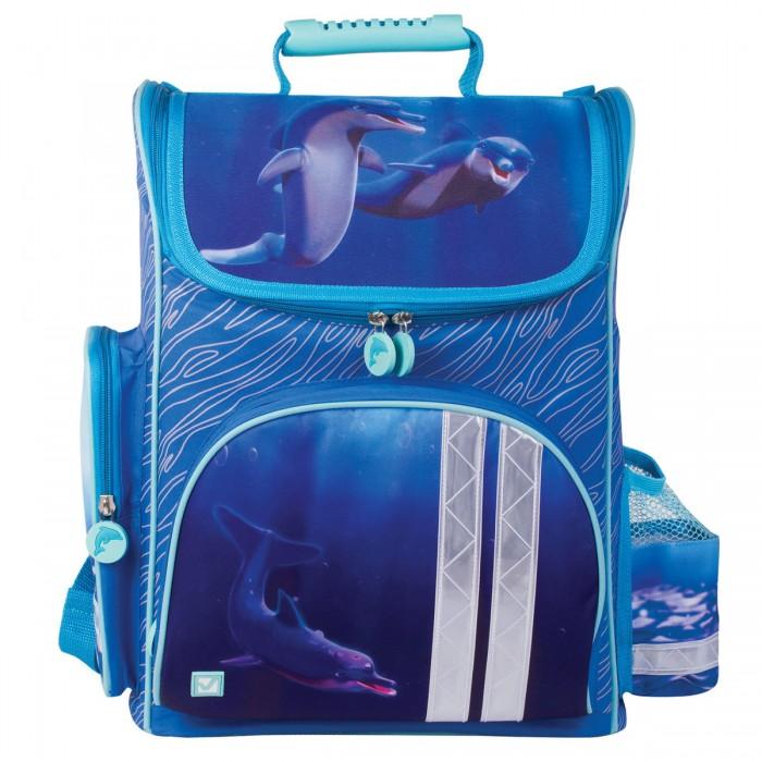 Купить Школьные рюкзаки, Brauberg Ранец Дельфин 20 л