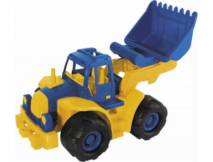 Машины Нордпласт Трактор Богатырь мини с грейдером машины нордпласт трактор ангара с грейдером и ковшом