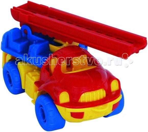 Машины Нордпласт Машина пожарная Малыш нордпласт пожарная машина кама