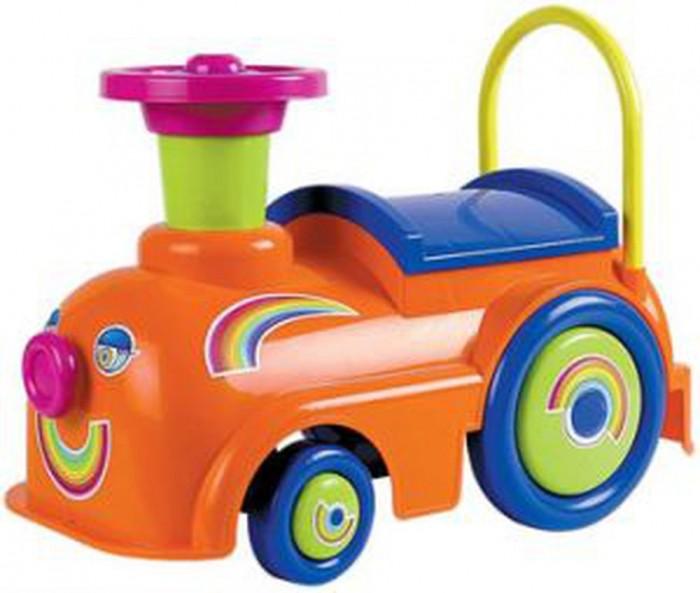 Детский транспорт , Каталки Нордпласт Машинка-толокар Экспресс Радуга арт: 532016 -  Каталки