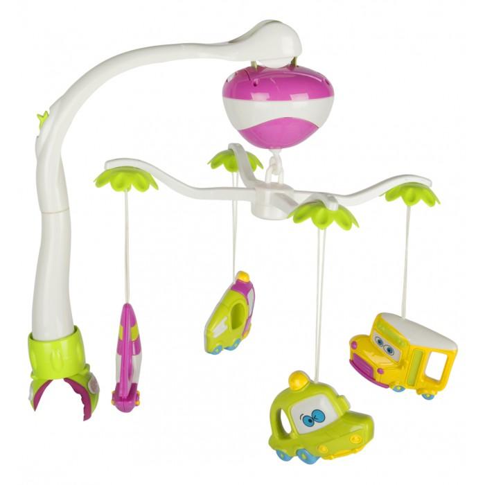 Мобили Zhorya Улыбка детства ZYA-A1504-2 электронные игрушки zhorya деткий компьютер планшет