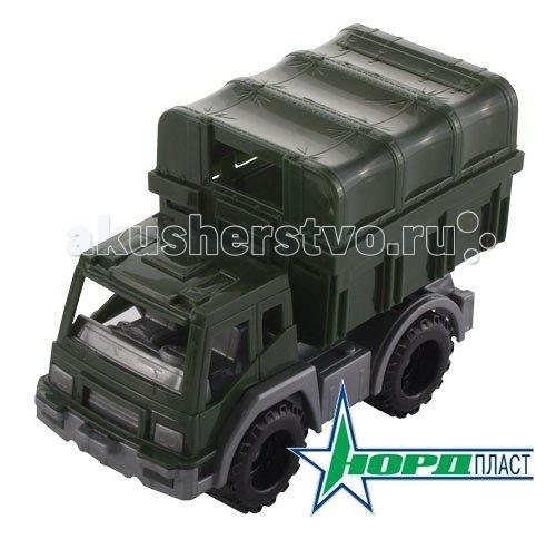 Машины Нордпласт Фургон Конвой фургон нордпласт конвой зеленый 266