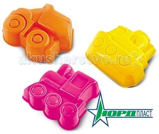 Игрушки для зимы Нордпласт Формочки Транспорт формочки для песка стеллар