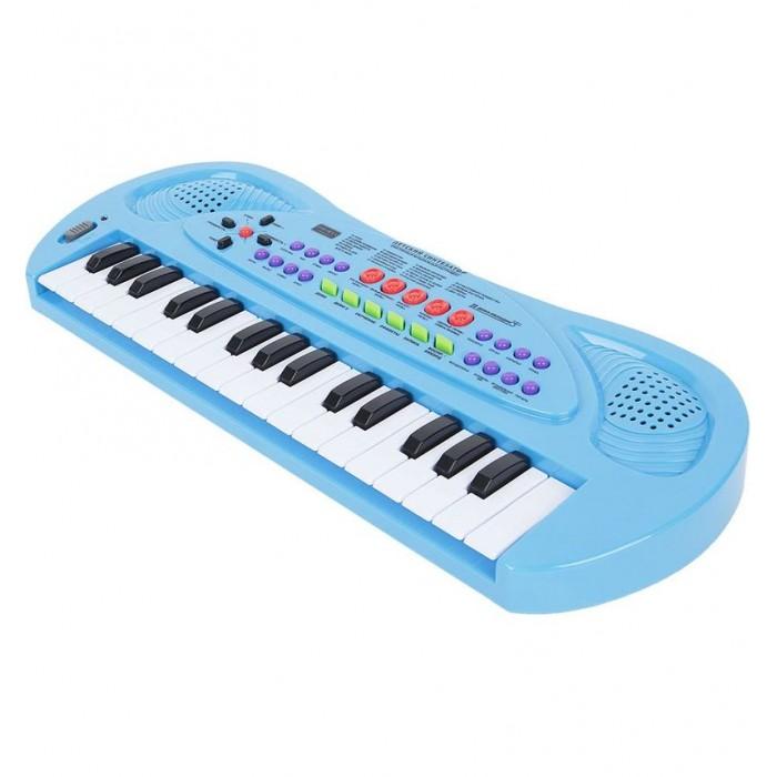 Музыкальные игрушки Zhorya Синтезатор с микрофоном 32 клавиши