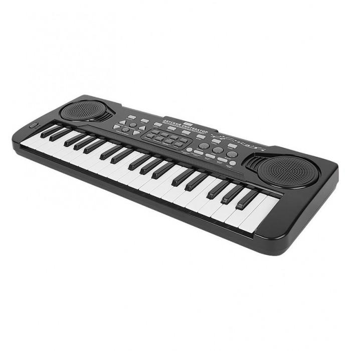 Музыкальные инструменты Zhorya Синтезатор с микрофоном 37 клавиш