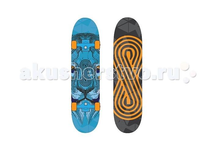 Скейтборды Larsen Скейтборд Flip 31х8 скейтборд 8 колес