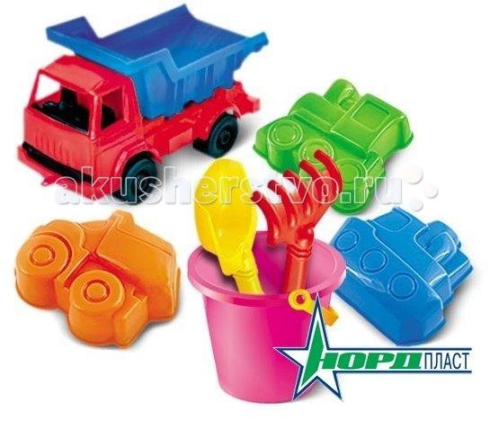 Игрушки для зимы Нордпласт Набор для песка №42 формочки для песка стеллар