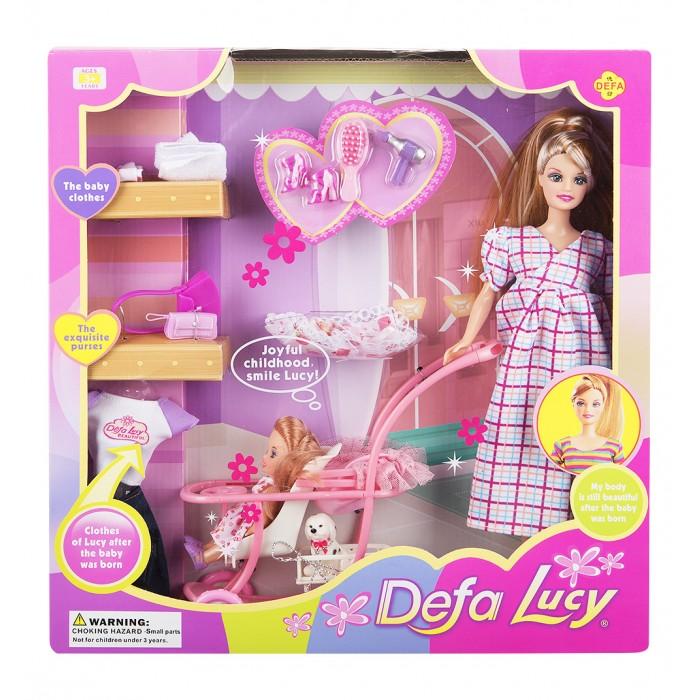 Куклы и одежда для кукол Defa Кукла с малышом и аксессуарами куклы и одежда для кукол defa игровой набор кукла с аксессуарами 26 см