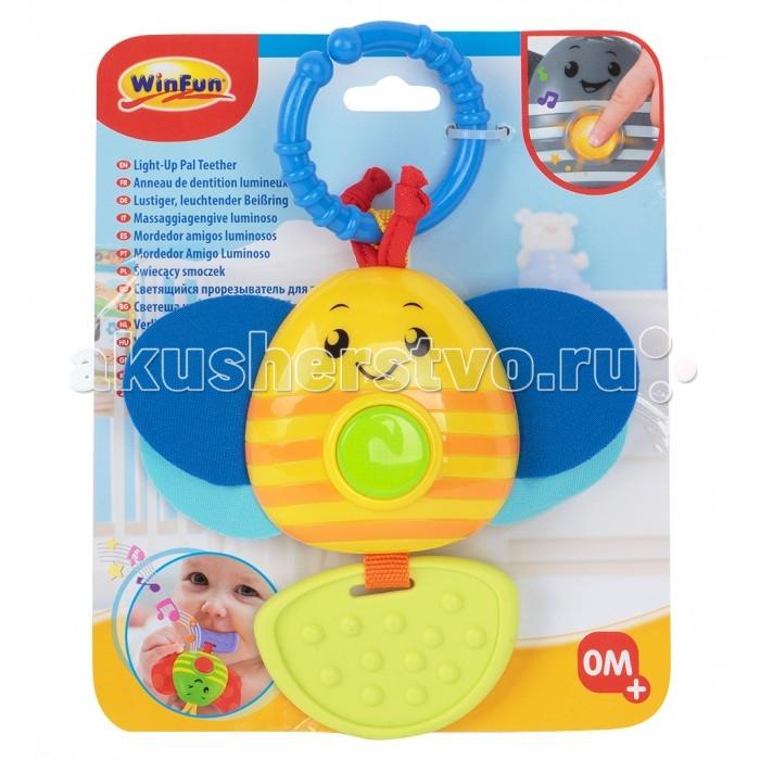 Фото - Подвесные игрушки Winfun Пчелка развивающие игрушки winfun телефон музыкальный развивающий
