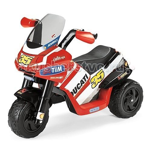Детский транспорт , Электромобили Peg-perego Мотоцикл Desmosedici ED0919 арт: 53381 -  Электромобили