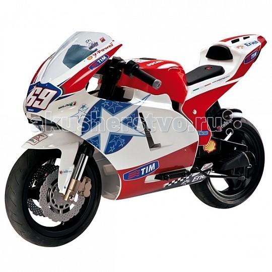 Купить Электромобили, Электромобиль Peg-perego Мотоцикл Ducati GP 24V OD0517