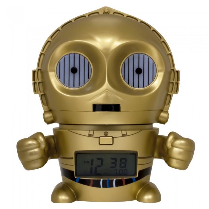 Часы Star Wars Будильник BulbBotz C-3PO Золотник Си-Трипио 14 см