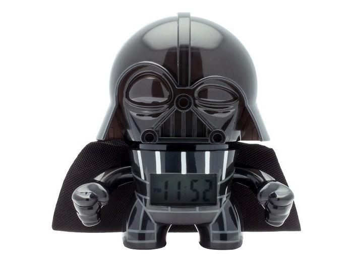 Часы Star Wars Будильник BulbBotz Darth Vader Дарт Вейдер 19 см