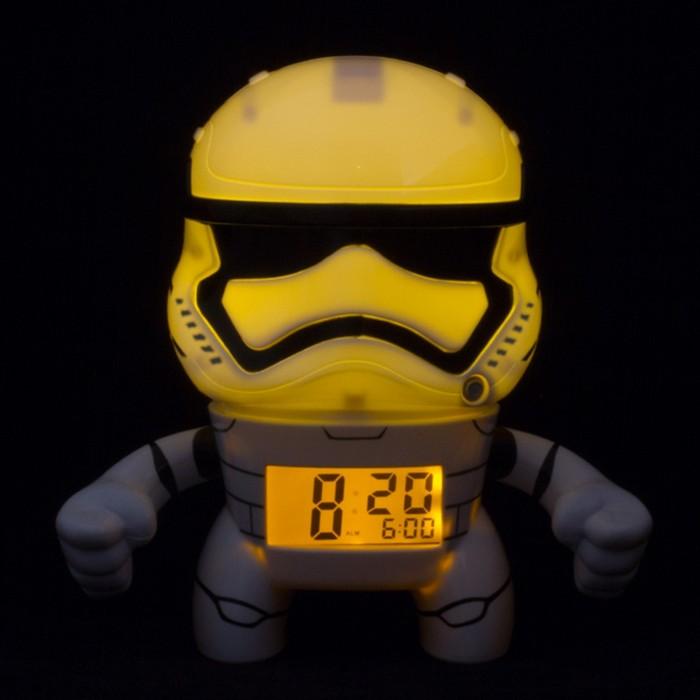 Часы Star Wars Будильник BulbBotz Stormtrooper Штормтрупер 19 см