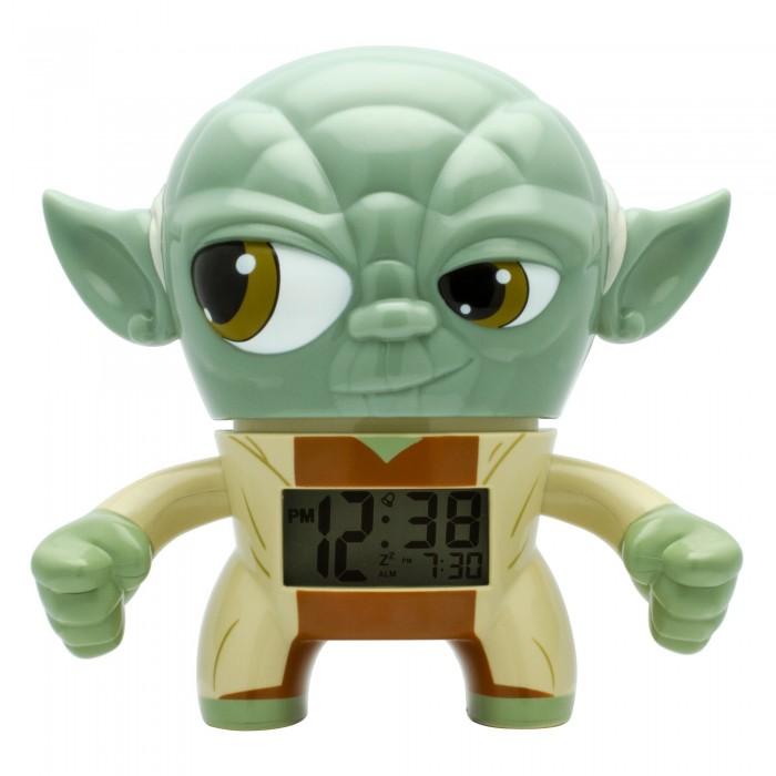 Часы Star Wars Будильник BulbBotz Yoda Йода 19 см