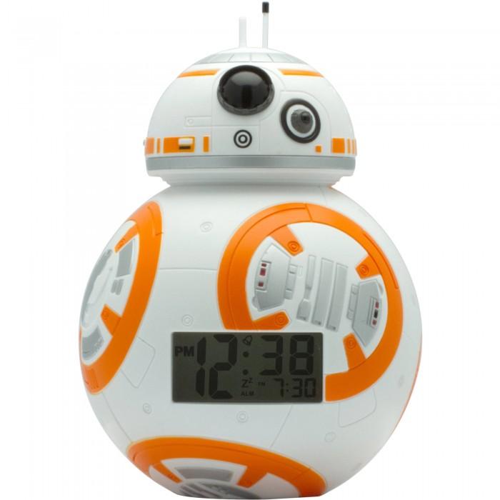Часы Star Wars Будильник BulbBotz Дроид BB-8 19 см