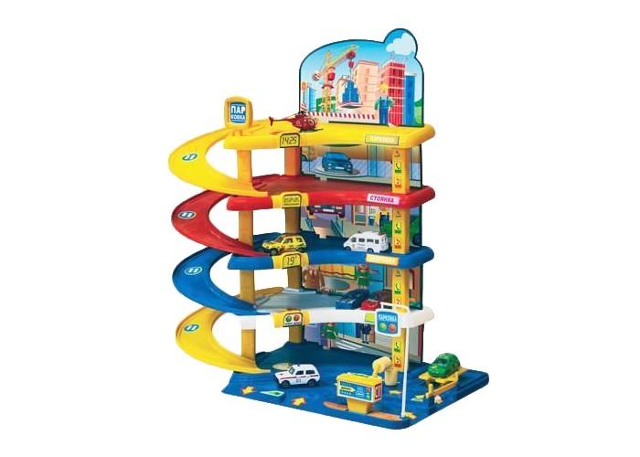 Машины Нордпласт Гараж Автопарковка-2 игровые наборы нордпласт гараж автопаркинг 2