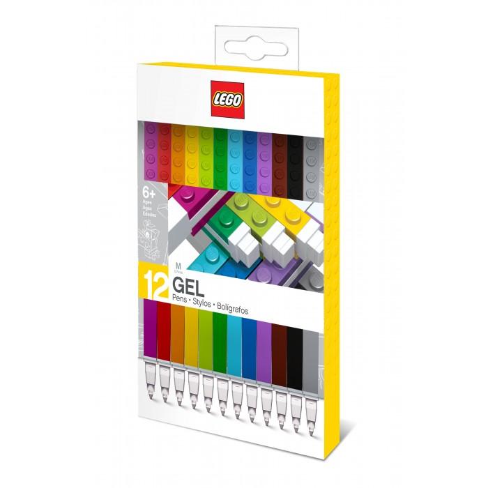 Развитие и школа , Канцелярия Lego Набор гелевых ручек 12 шт. арт: 535191 -  Канцелярия