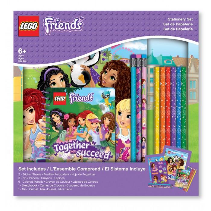 Канцелярия Lego Friends Набор канцелярских принадлежностей 13 шт. набор статуэток филины 3 шт h25 20 13 см