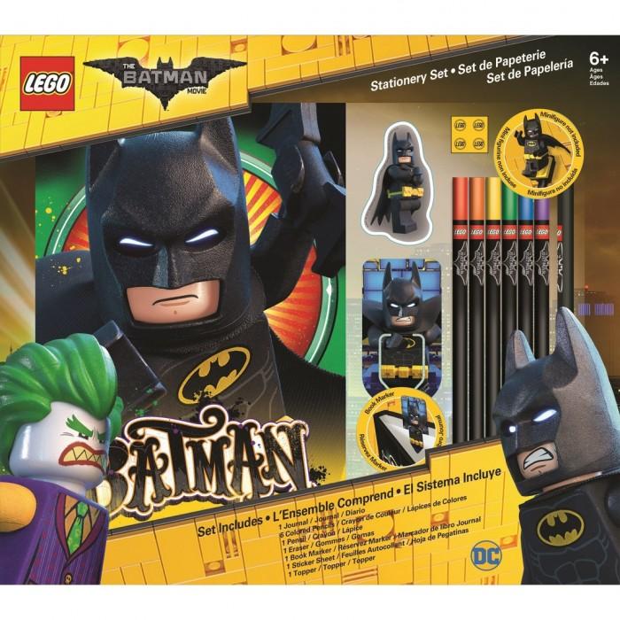Канцелярия Lego Batman Movie Набор канцелярских принадлежностей 12 шт.
