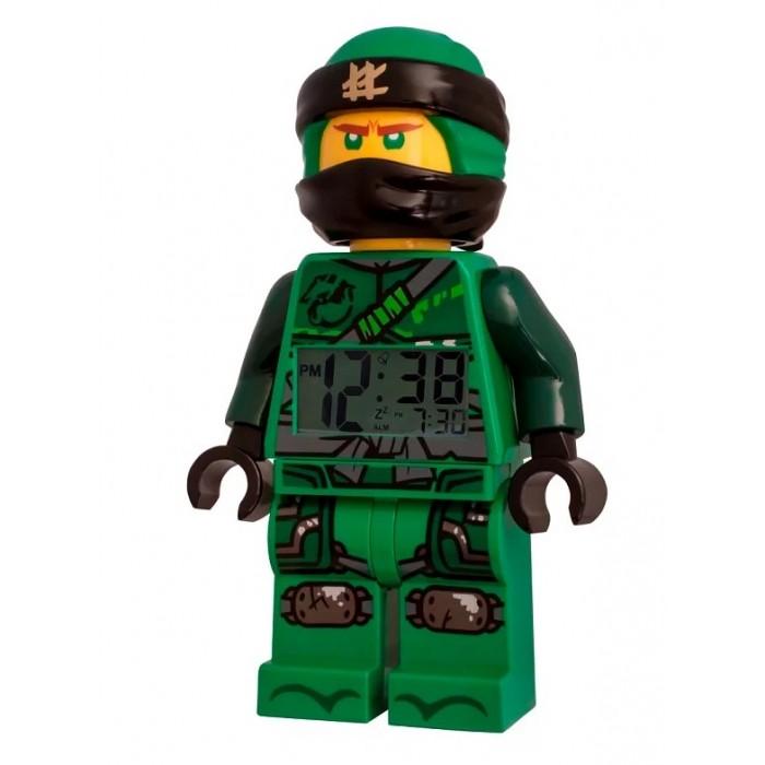 Часы Lego Ninjago Movie Будильник минифигура Lloyd