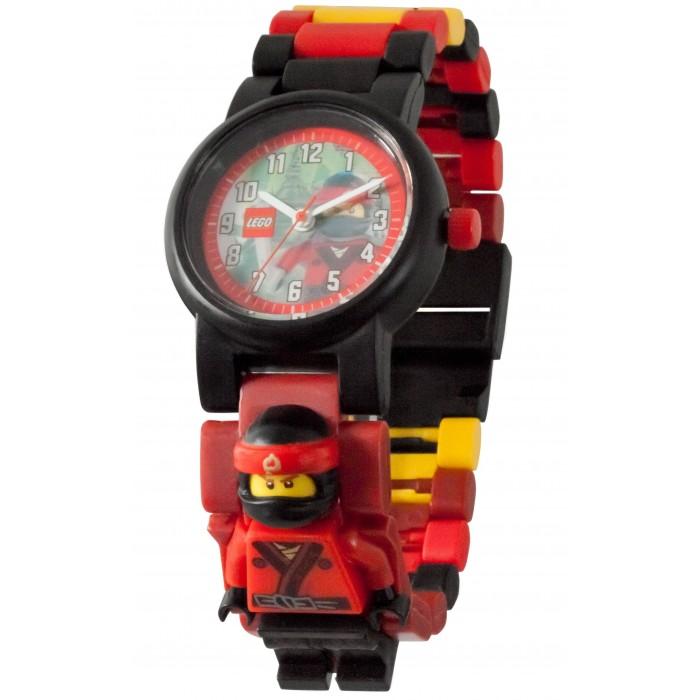 Часы Lego Ninjago Movie Наручные с минифигурой Kai на ремешке