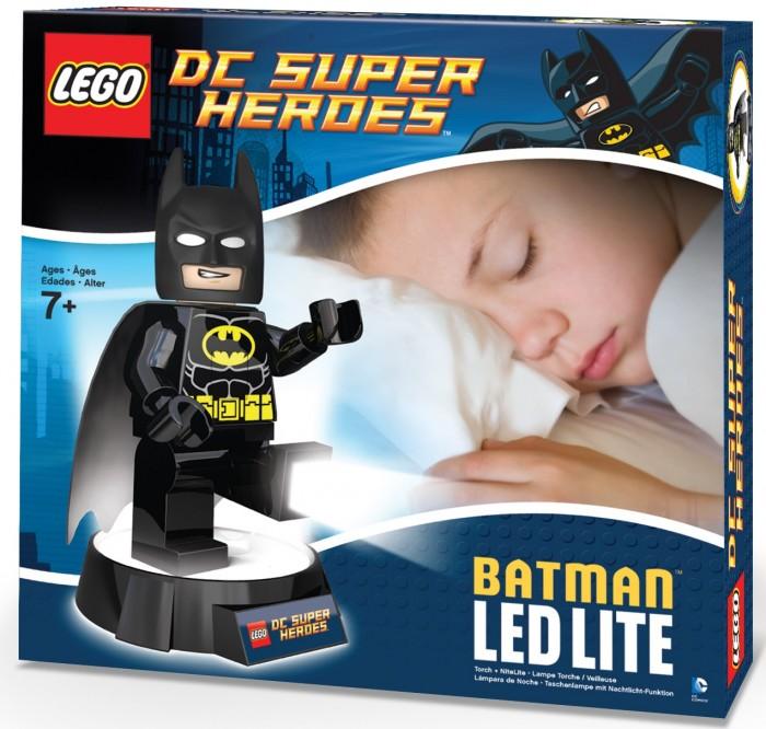 Ночники Lego DC Super Heroes Минифигура-фонарь Batman на подставке super heroes batman decool blocks set mr freeze aquaman compatible with lego marvel models building toys