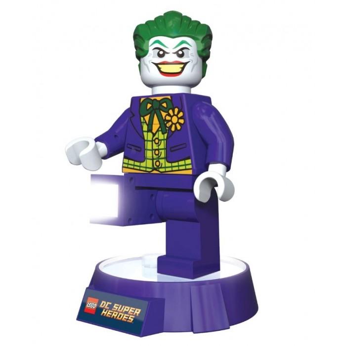 Детская мебель , Ночники Lego DC Super Heroes Минифигура-фонарь Joker на подставке арт: 535711 -  Ночники