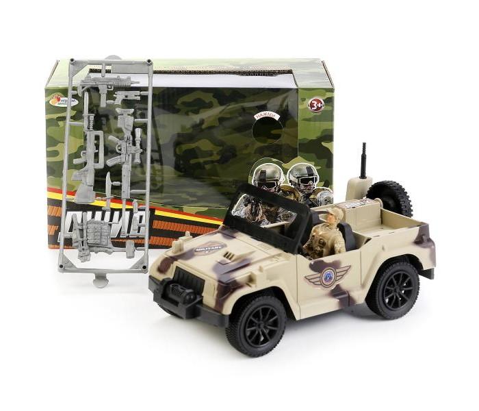 Машины Играем вместе Набор военная техника