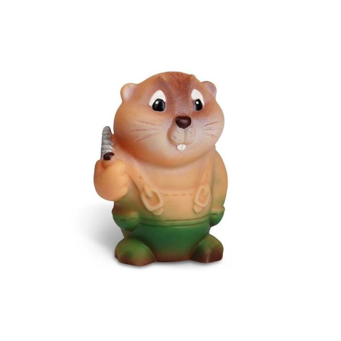 Игрушки для ванны Огонек Игрушка Бобр Лесоруб игрушки для ванны сказка игрушка для купания транспорт