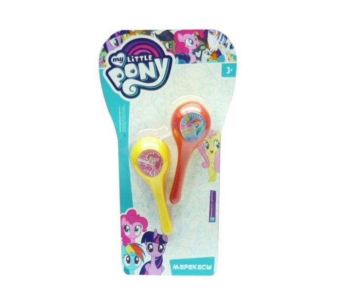 Музыкальные игрушки Играем вместе Маракасы My Little Pony