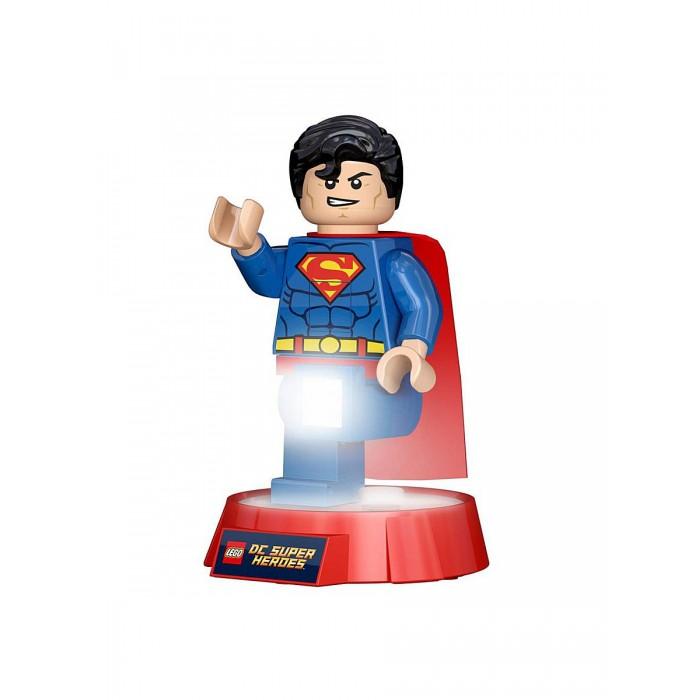 Ночники Lego DC Super Heroes Минифигура-фонарь Superman на подставке single sale super heroes human torch centinel x men false god superman sandman bricks building blocks children gift toys kf8026