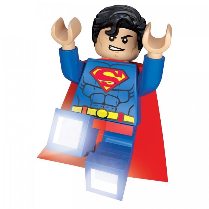 Ночники Lego DC Super Heroes Минифигура-фонарь Superman single sale super heroes human torch centinel x men false god superman sandman bricks building blocks children gift toys kf8026