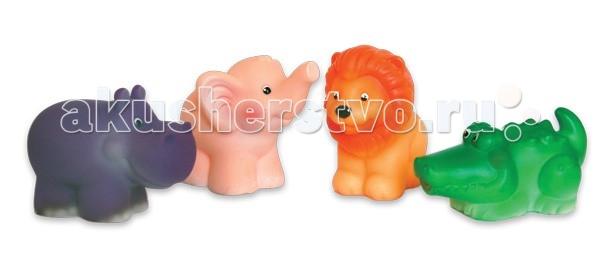 Игрушки для ванны Огонек Набор игрушек для купания Африка игрушки для ванны tolo toys набор ведерок квадратные