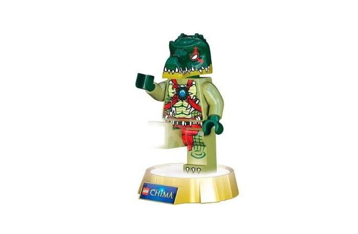 Детская мебель , Ночники Lego Legends of Chima Минифигура-фонарь Cragger на подставке арт: 536071 -  Ночники
