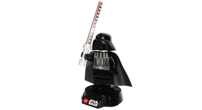 Детская мебель , Ночники Lego Star Wars Минифигура-лампа Darth Vader на подставке арт: 536086 -  Ночники