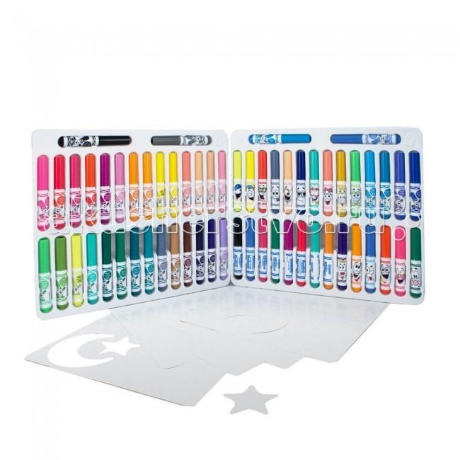 Развитие и школа , Фломастеры Crayola Гигантский набор фломастеров 60 шт. арт: 53619 -  Фломастеры