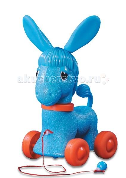 Купить Каталки-игрушки, Каталка-игрушка Огонек Ослик