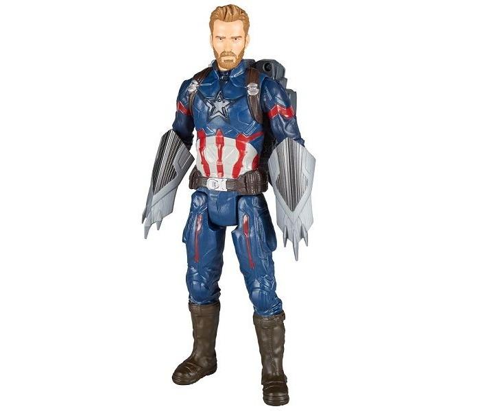 Игровые фигурки Avengers Movie Игровая фигурка Капитан АмерикаПауэр Пэк