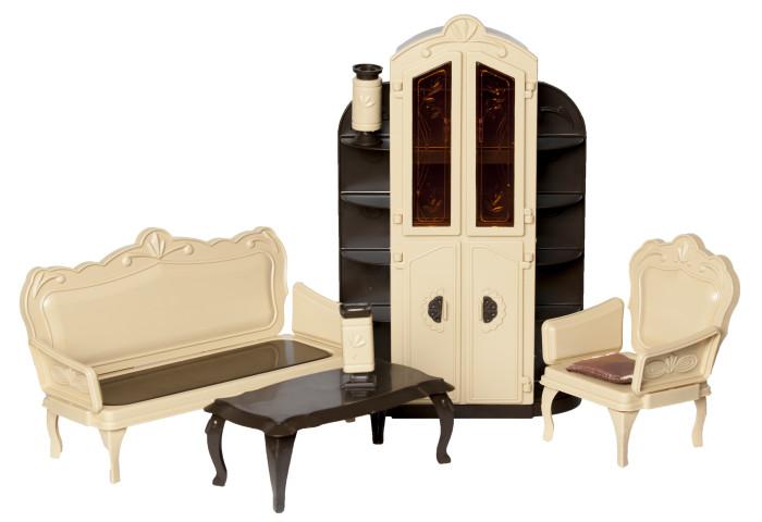 Кукольные домики и мебель Огонек Набор мебели для гостиной Коллекция