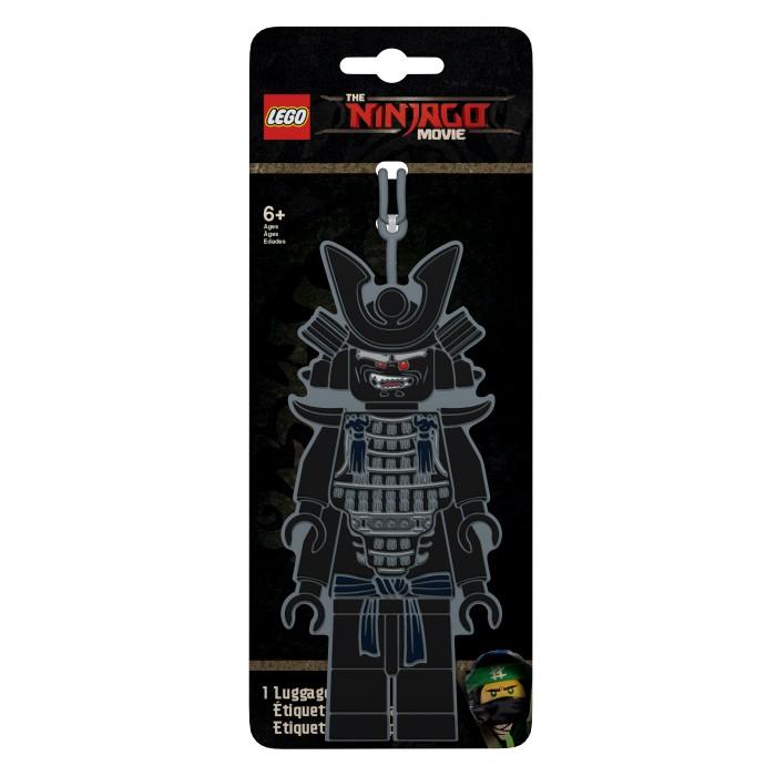 Детские чемоданы Lego Ninjago Movie Бирка для багажа Lord Garmadon 2017 movie ninja temple of the ultimate weapon building block nya kai zane cole llolyd jay garmadon figures bricks 70617 toys