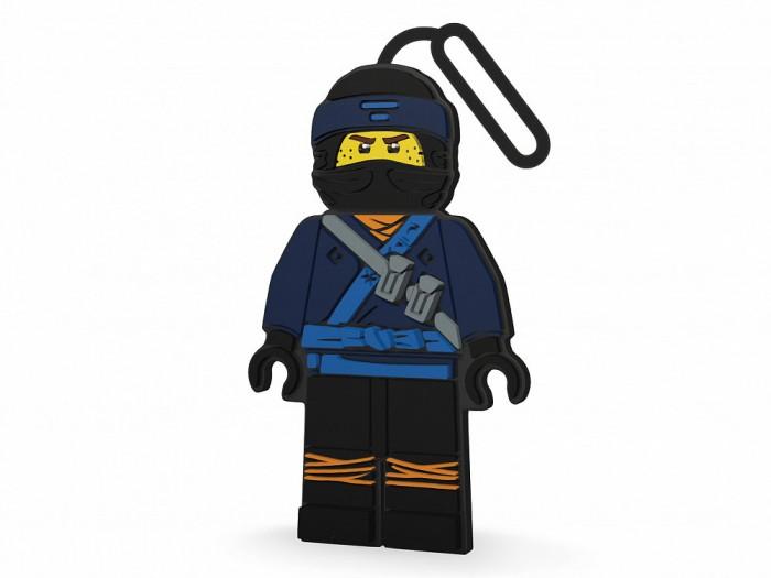 Детские чемоданы Lego Ninjago Movie Бирка для багажа Jay lego movie бирка для багажа lego star wars movie 2 дупло