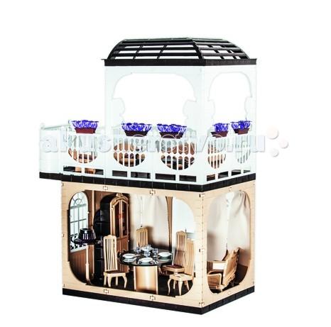 Огонек Кукольный домик Коллекция (без мебели)Кукольный домик Коллекция (без мебели)Кукольный домик Дом Коллекция (без мебели) С-1293 Огонёк - удивительный двухэтажный однокомнатный дом с терассой и балконом на крыше и лестницей. Предназначен для кукол ростом до 30 см.  Домик выполнен в нестандартных бежево-коричневых тонах, придающих элегантность, неповторимый стиль и статус.  Игрушка полностью сделана из качественной пластмассы. Литые элементы и перекрытия придают хорошую устойчивость и прочность домику, а срок их службы намного превышает пластиково-картонные аналоги.  В состав комплекта входят 2 стены с окном, 2 стены без окон, 1 стена с дверью, 4 половых панели, 4 детали фасада, 2 декоративные решётки, 2 карниза для штор, 2 планки, 1 основание балкона (терассы), 4 опоры, 7 парапетов, 1 навес, 2 лестницы, 2 верхних и 2 нижних перилы, 2 ящика для цветов, 6 цветов, 1 блок аппликаций и 48 защёлок.  Куклы и мебель в комплект не входят!  Размеры 57х33х80 см.  Игрушка собирается ребёнком с помощью взрослого и предназначена для игры с куклами высотой до 30 см .<br>